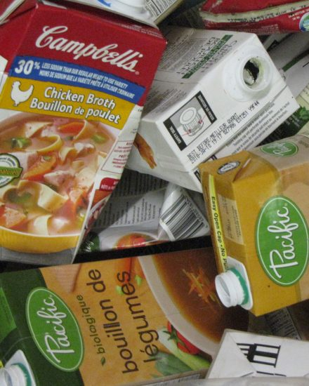 Soup and broth tetrapaks