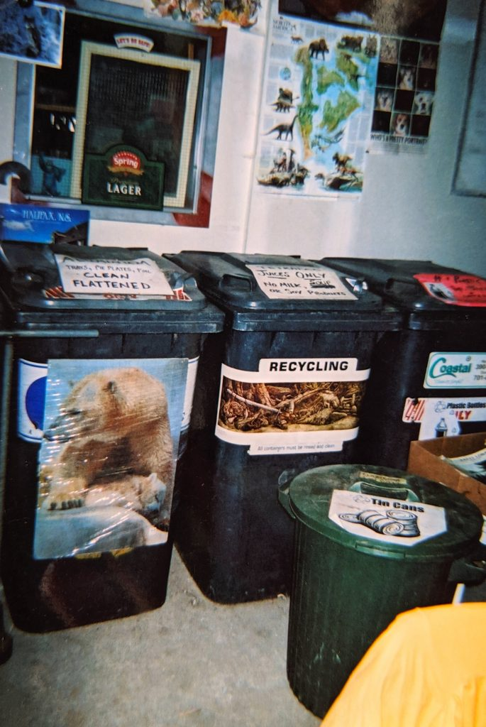 GIRO bins for recyclable sorting